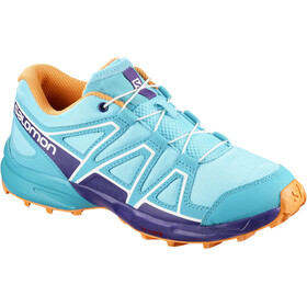 Salomon Speedcross Shoes Junior Blue Curacao/Acai/Bird of Paradise